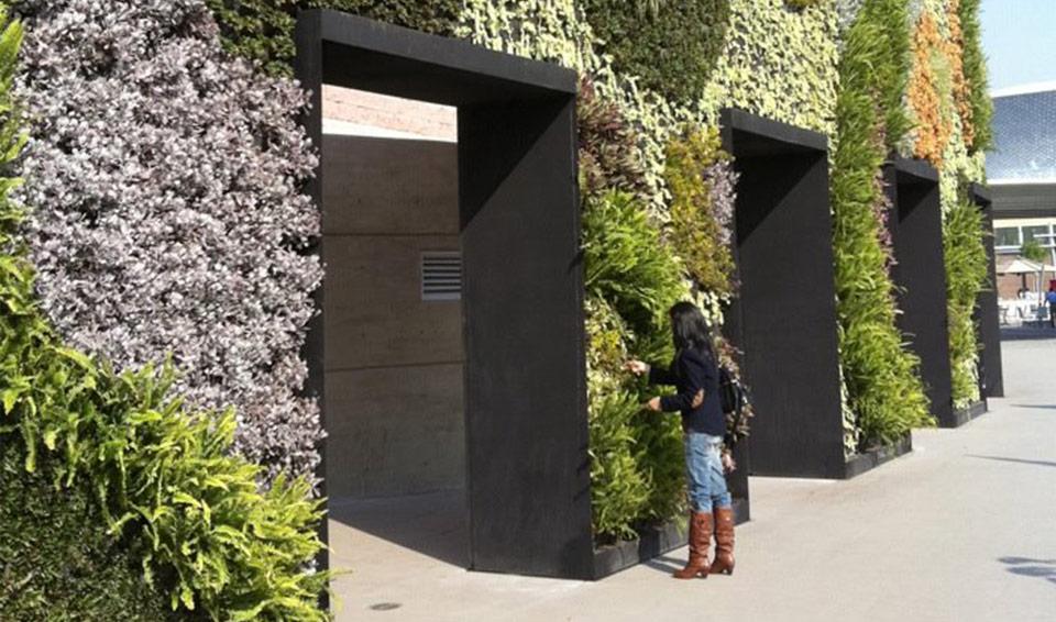 Verdevertical jardines verticales for Jardines verdes verticales